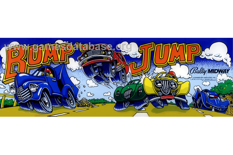 Bump 'n' Jump - Arcade - Games Database