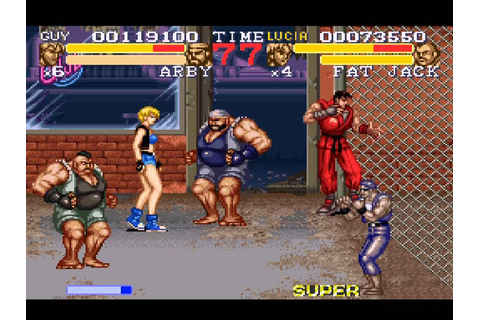 Final Fight 3 (Super NES) Full Playthrough - YouTube