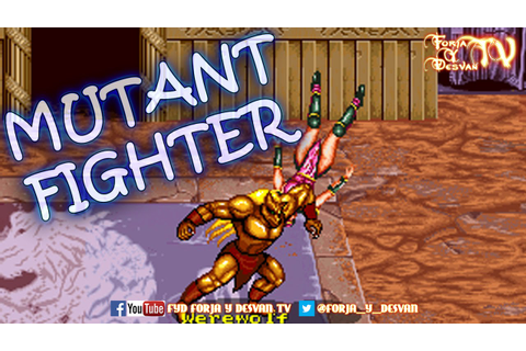 MAME MUTANT FIGHTER ARCADE GAMEPLAY - YouTube
