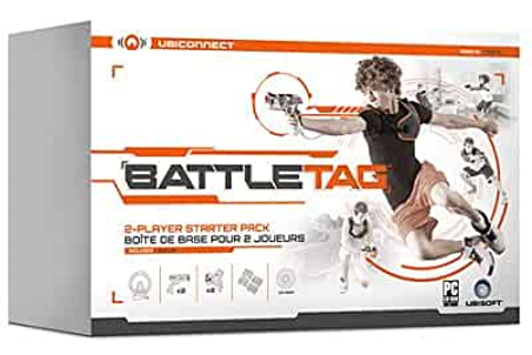 Amazon.com: UBISOFT Battle Tag: 2 Player Laser Tag Pack by ...