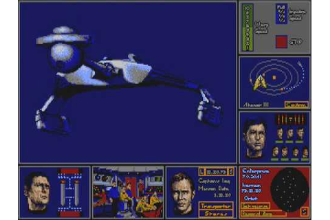 Star Trek - The Rebel Universe (Atari ST) - YouTube