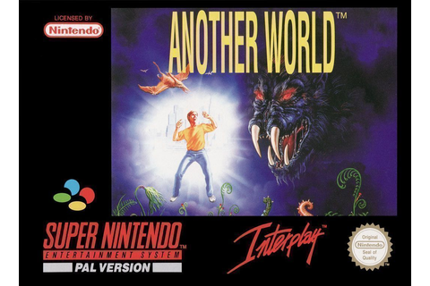 Another World - Super Nintendo(SNES) ROM Download
