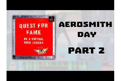 [AP] Quest for Fame - Aerosmith Day Part 2/2 - YouTube