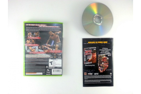 UFC 2009 Undisputed game for Xbox 360 (Complete) | The ...