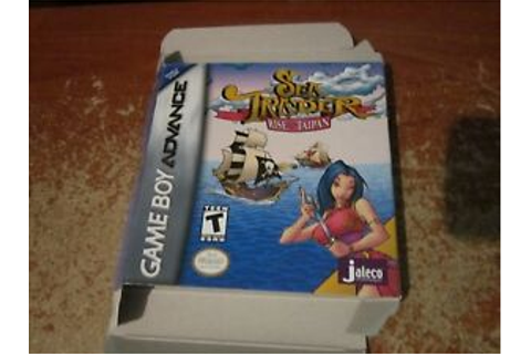 Sea Trader: Rise of Taipan - Game Boy Advance GBA BOX ONLY ...