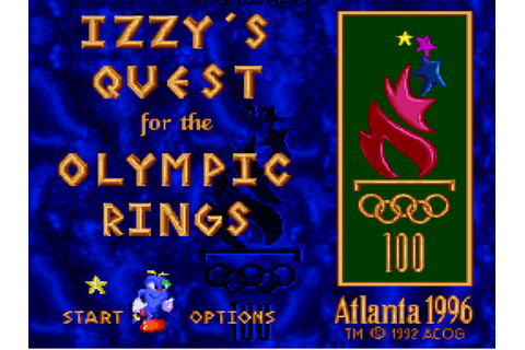 Izzy's Quest for the Olympic Rings Download Game ...