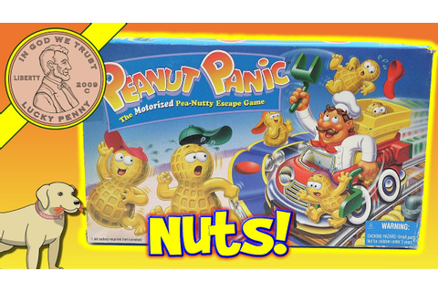 Peanut Panic The Pea-Nutty Escape Family Board Game ...