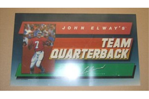John Elway's Team Quarterback Marquee for sale ...