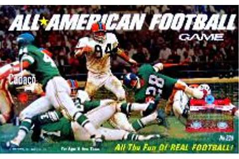 1969 All-AmericanFootball game Cadaco | Don's Game Closet