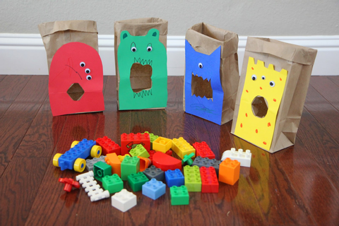 Toddler Approved!: Feed the LEGO Monsters: A Sorting and ...