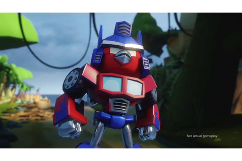 Angry Birds Transformers Comic-Con trailer - YouTube