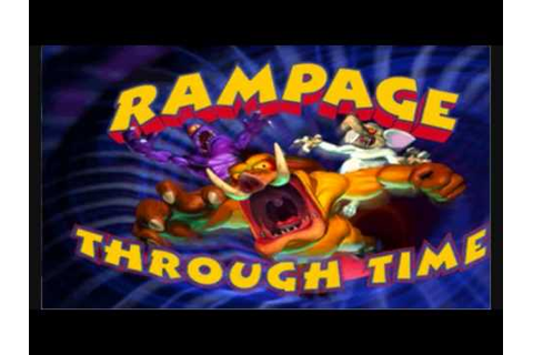 Rampage Through Time OST - Title Screen - YouTube