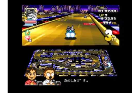 Americas GP (Crash Race) SD F1 Grand Prix SNES - YouTube