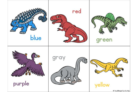 Dinosaur Matching Game for Toddlers | Matching games for ...