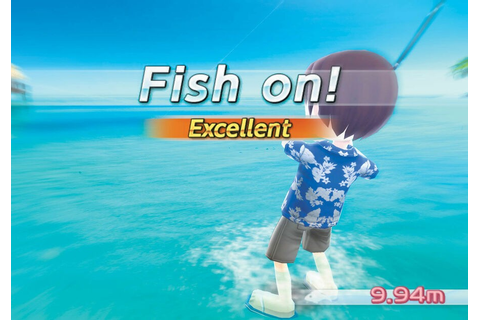 Fishing Resort (Wii) Screenshots