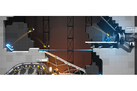 New Games: BRIDGE CONSTRUCTOR PORTAL (PC, PS4, Xbox One ...