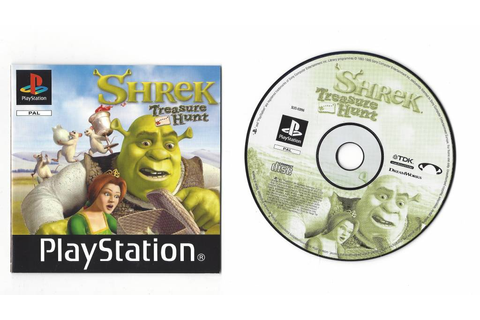 Shrek Treasure Hunt - Playstation 1 PSX PS1 PAL - Passion ...