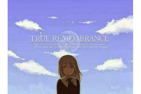 Visual Novel Game True Remembrance
