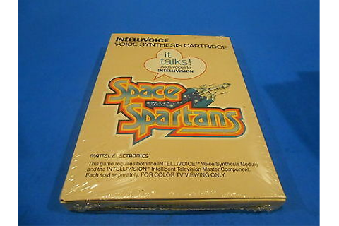 SPace SPartans Intellivision INTV Game New Sealed ...