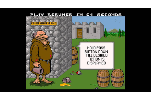 Pigskin 621 AD Arcade game - YouTube