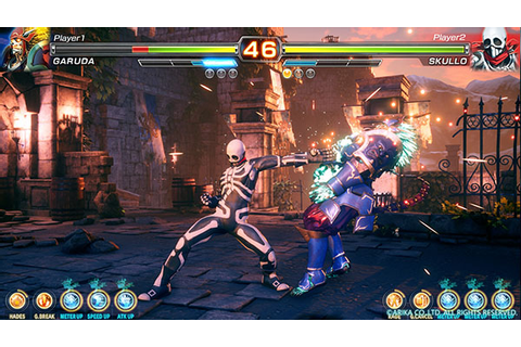 "Arika's ""Mysterious Fighting Game"" titled Fighting EX ..."