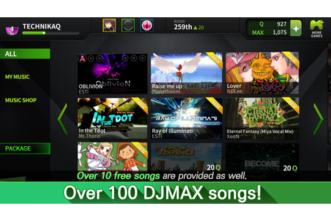 DJMAX TECHNIKA Q - Music Game - Android Apps on Google Play
