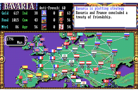 Download L'Empereur strategy for DOS (1991) - Abandonware DOS