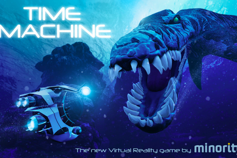 Time Machine is a virtual reality Jurassic Park from the ...