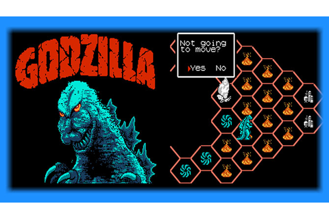 Godzilla: Monster of Monsters! (NES) - English Patch ...