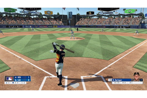 R.B.I. Baseball 18 footage - Nintendo Everything