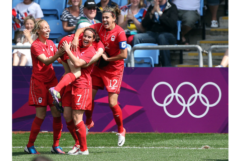 London 2012: Canada wins soccer bronze with stunning late ...