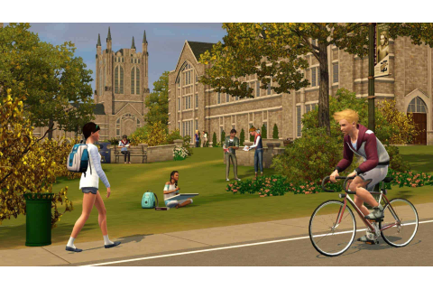The Sims 3 University Life Download Game