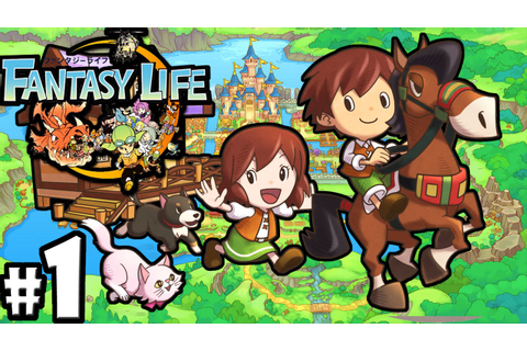 Fantasy Life 3DS: Adventure Lives! Character Creation PART ...
