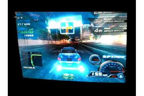 Sega R-Tuned: Ultimate Street Racing gameplay London ...