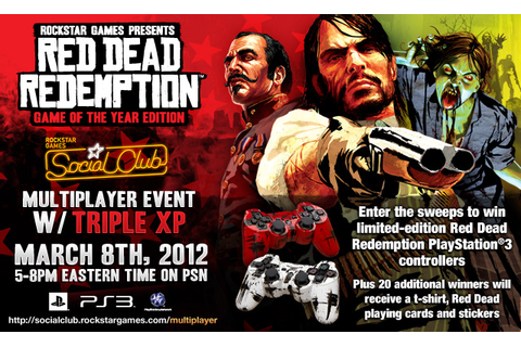 Red Dead Redemption: Game of the Year Edition PSN Official ...