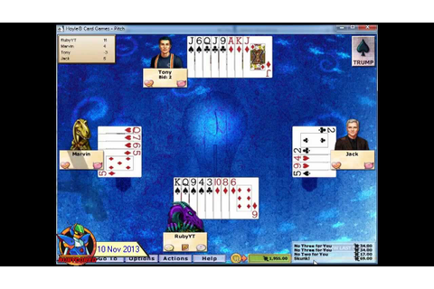 Hoyle Card Games 2005 - Pitch 01 (1st)[720p] - YouTube