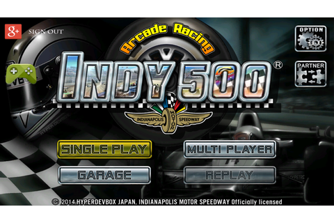 INDY 500 Arcade Racing – Android-Apps auf Google Play