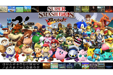 Super Smash Bros Brawl - Todos los Smash finales - YouTube