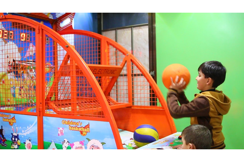 Basketball Challenge Indoor Playground Basketball Game for ...