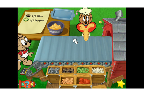 JumpStart Advanced 1st Grade Gameplay: Frankie's Pizza ...