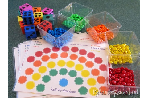Roll–A- Rainbow Game