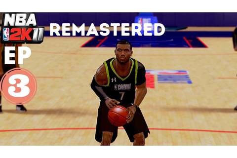 NBA 2K11 REMASTERED MY CAREER EPISODE 3: Combine Game #3 ...