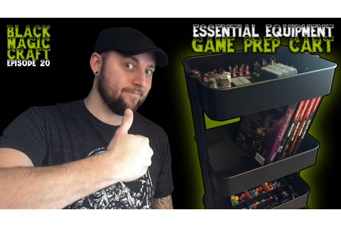 Essential Equipment: Game Prep Cart For Dungeon Masters ...