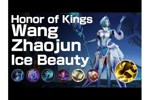 Honor of Kings MOBA Wang Zhaojun Ice Beauty 14K/ 3D/ 22A ...