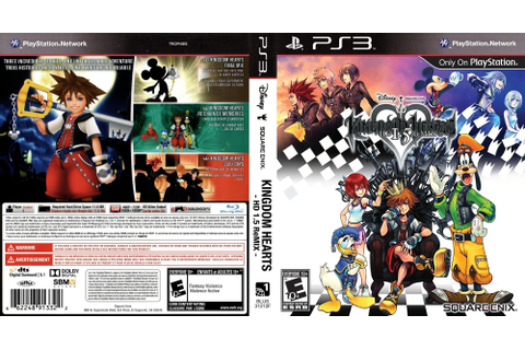 BLUS31212 - Kingdom Hearts HD 1.5 ReMIX