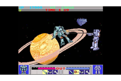 Galactic Warriors (Arcade) - YouTube