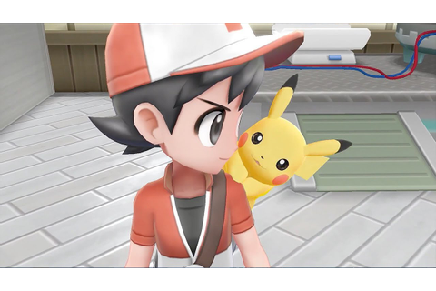 Pokemon Let's Go Pikachu and Pokemon Let's Go Eevee ...