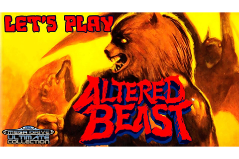 Altered Beast - Full Co-op Playthrough With Commentary ...
