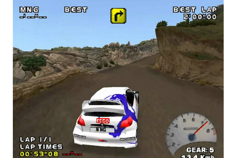All Cars - V-Rally 2 PSX - #01 Peugeot 206 - YouTube