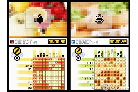 Picross DS AU Review - IGN